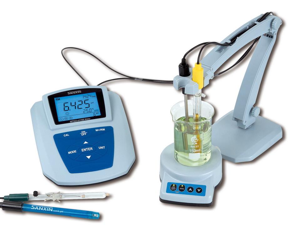 氯离子选择电极的结构示意图