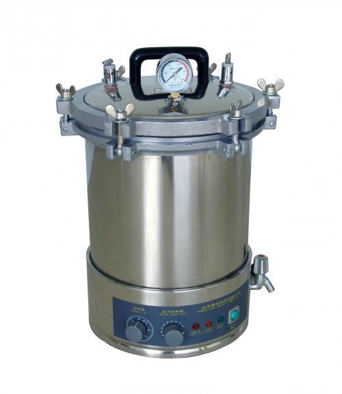 上海博迅自动型手提式压力蒸汽**器YXQ-LS-18SI