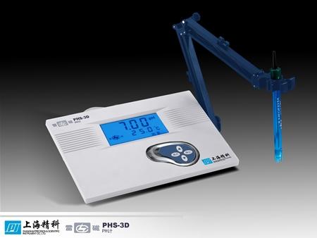 上海雷磁精密酸度�PHS-3D(停�a)