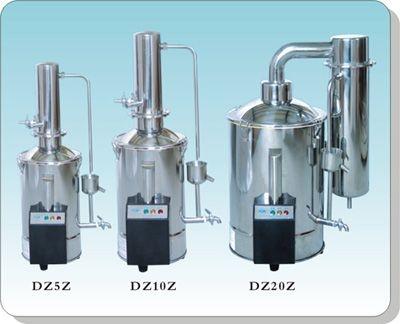 上海三申不锈钢电热蒸馏水器(自控)DZ20Z