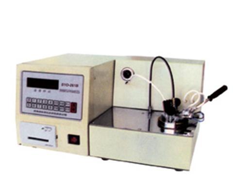 上海昌吉石油產品閉口閃點試驗器(數顯)SYD-261B