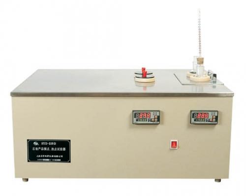 上海昌吉石油產品傾點濁點試驗器SYD-510D